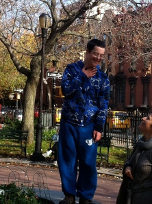 Akiva in Cobble Hill Park, November 2011