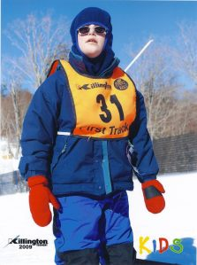 Akiva on the slopes. Killington, VT 2009
