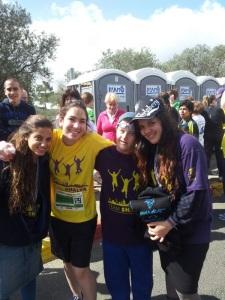 Akiva at the J'lem Marathon